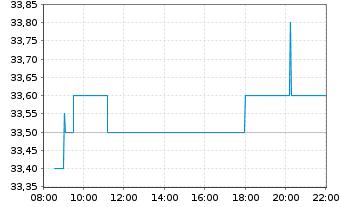 Chart SNP Schnei.Neureith.&Partn.SE - Intraday