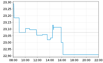 Chart ArcelorMittal S.A. - Intraday