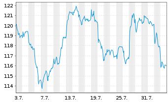Chart Source-S.ST.Eur.600Opt.Techn. - 1 Monat