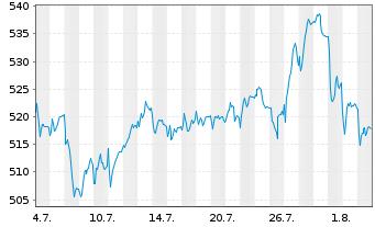 Chart Source-S.ST.Eur.600 Opt.A+P - 1 Monat