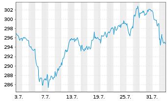 Chart Source Mkts-S.MSCI Euro.U.ETF - 1 Monat