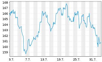 Chart FPM FDS-Stockp.Ger.Large Cap Inhaber-Anteile - 1 Monat