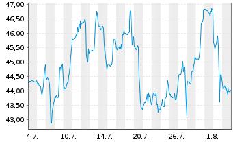 Chart Appian Corp. - 1 Monat