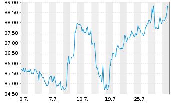 Chart Yeti Holdings Inc. - 1 Monat
