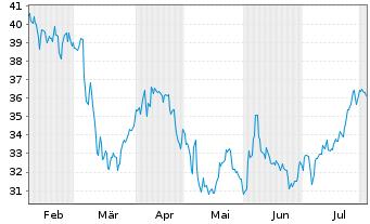 Chart Advansix Inc. - 6 Monate