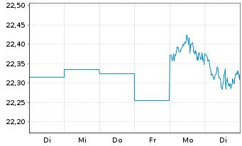 Chart ACMBernst.-Sele.Abs.Alpha Ptf. AA Acc.EUR Hed.o.N. - 1 Woche